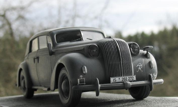 Opel admiral cabriolet Revell 1/35 1303210442226670110995959