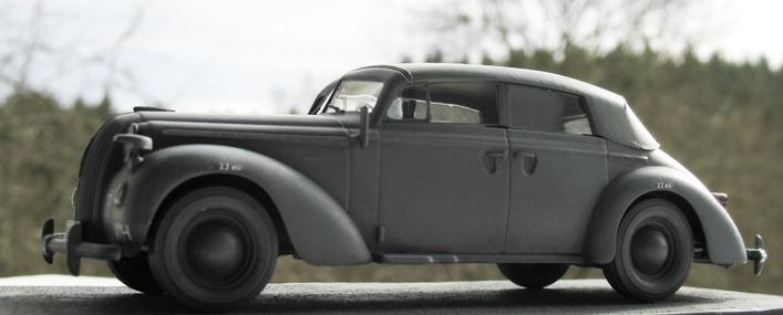 Opel admiral cabriolet Revell 1/35 1303210442326670110995961