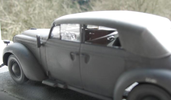 Opel admiral cabriolet Revell 1/35 1303210442396670110995962