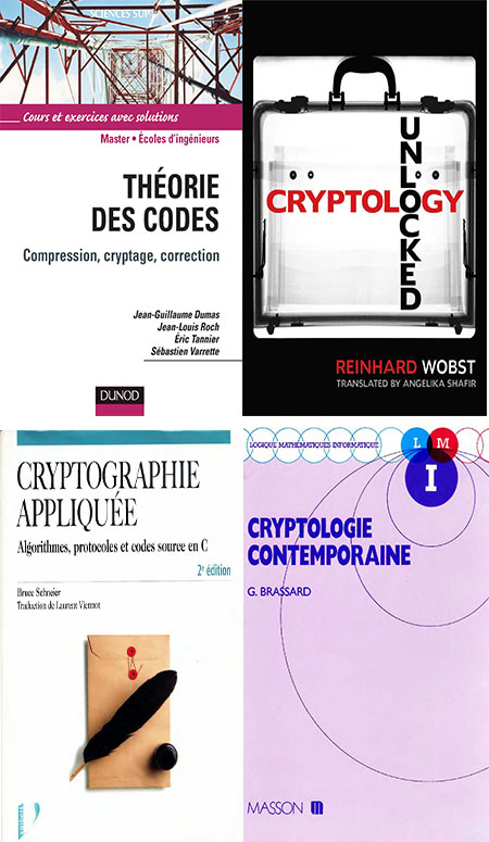 Ebooks Cryptographie initiation et theorie