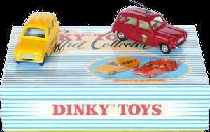 Coffret Renault 4L Dinky-Toys Atlas