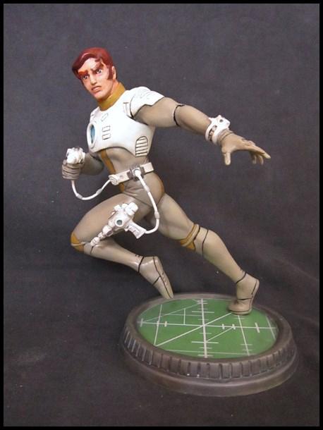 Capitaine Flam statue 13032409133616083611005106