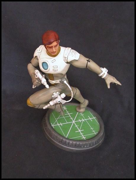 Capitaine Flam statue 13032409133616083611005110