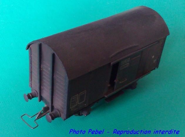 Wagons couverts 2 essieux maquette 1303260828038789711016425