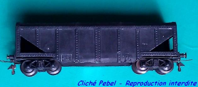Wagons trémie à bogies maquette 1303260828058789711016428