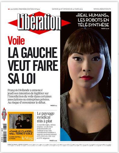 Libération Samedi 30 et Dimanche 31 Mars 2013
