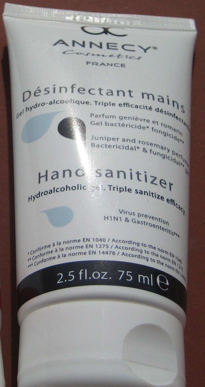 Annecy Cosmetics - Désinfectant pour les mains