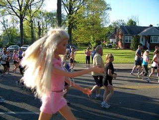 Barbie - course à pieds - running