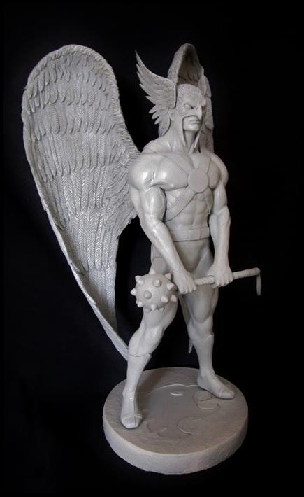 Hawkman statue 1/4  13040508052016083611051969