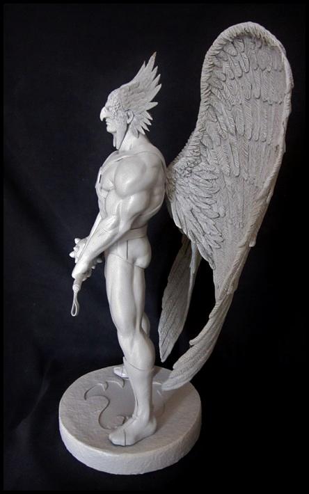 Hawkman statue 1/4  13040508052116083611051970
