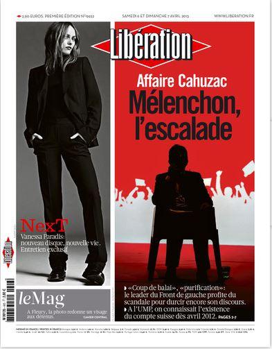 Libération Samedi 6 et dimanche 7 avril 2013