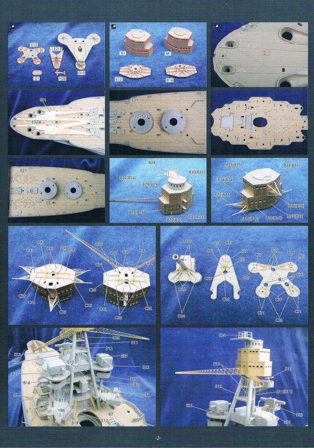 montage du USS ARIZONA AU 1/200 par Raphael 1304061004154922011052938