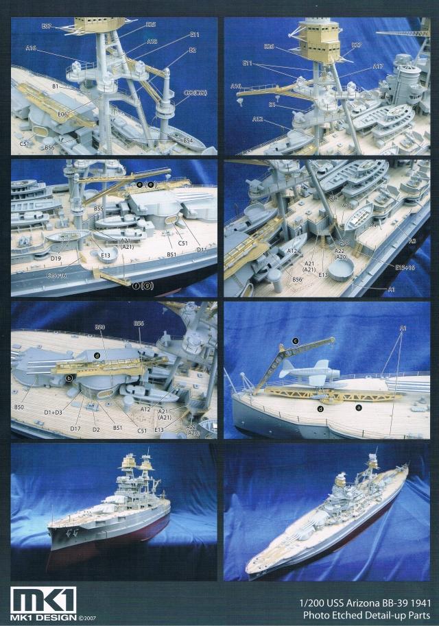 montage du USS ARIZONA AU 1/200 par Raphael 1304061005534922011052941