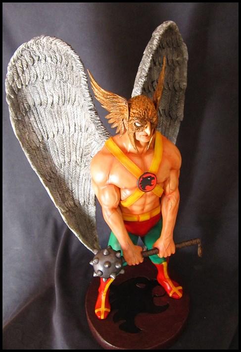 Hawkman statue 1/4  13040705051916083611058470