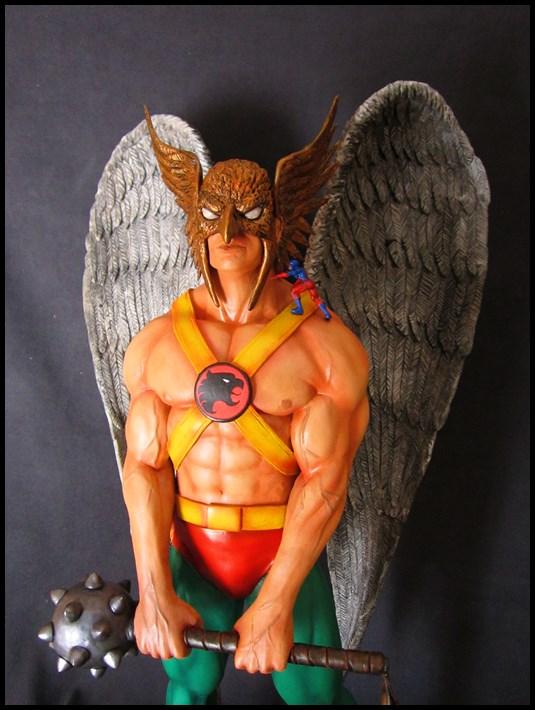 Hawkman statue 1/4  13040705051916083611058471