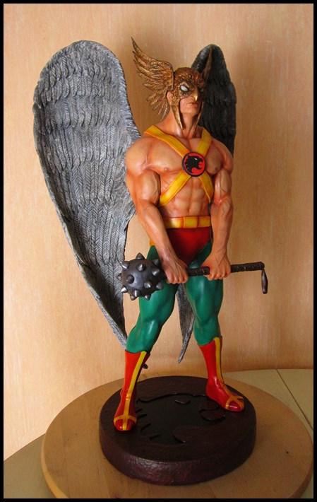 Hawkman statue 1/4  13040705051916083611058473