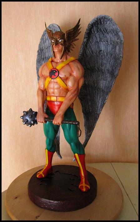 Hawkman statue 1/4  13040705051916083611058474