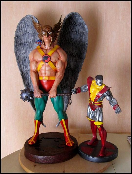 Hawkman statue 1/4  13040705051916083611058477