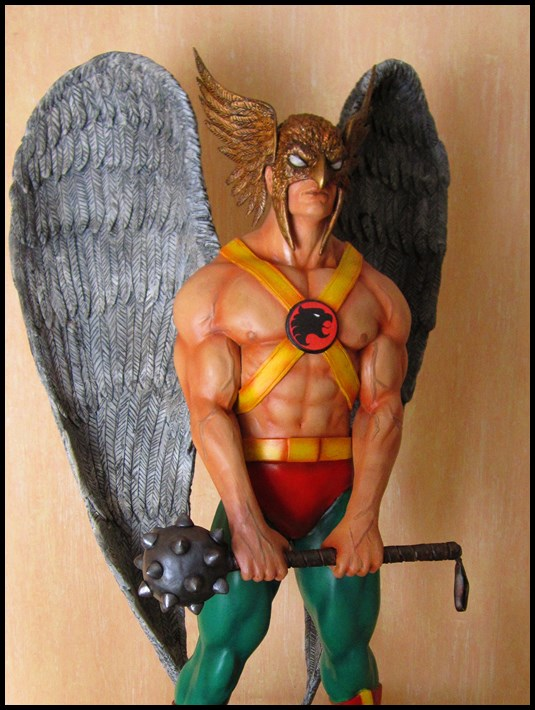Hawkman statue 1/4  13040705051916083611058478