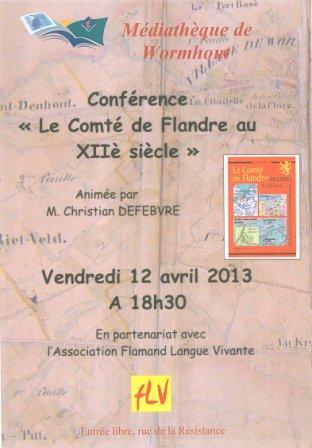 Voordrachten in Frans-Vlaanderen 13040911165014196111065725