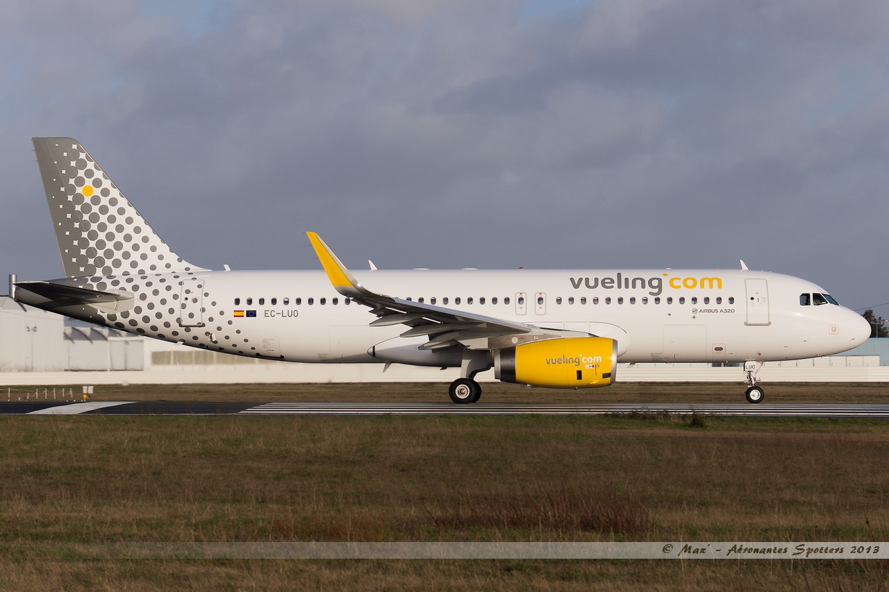 [09/04/2013] Airbus A320-232SL (EC-LUO) Vueling : Sharklets !!!!!!! 13041001015215922511068284