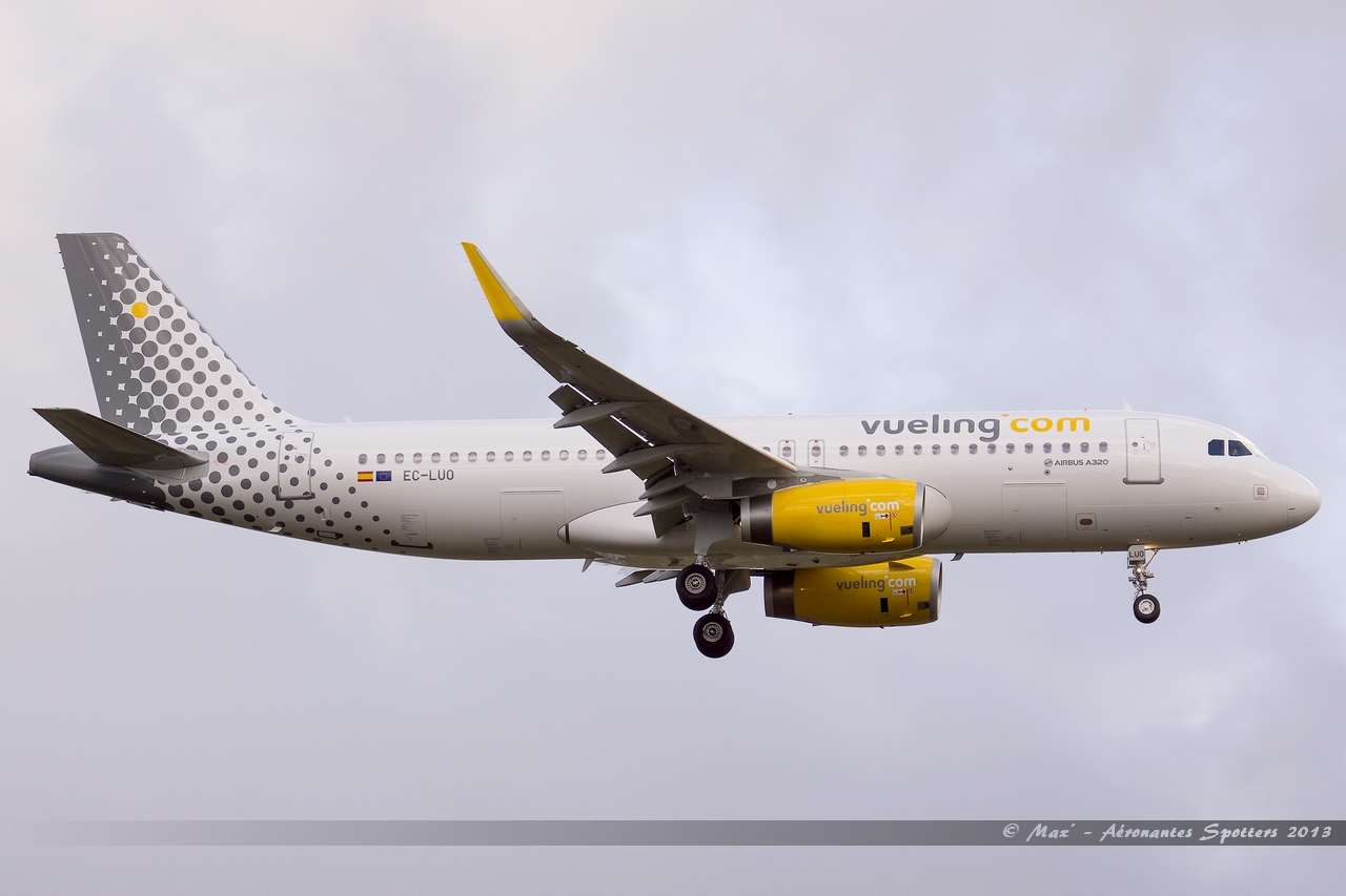 [09/04/2013] Airbus A320-232SL (EC-LUO) Vueling : Sharklets !!!!!!! 13041108584916280011075122