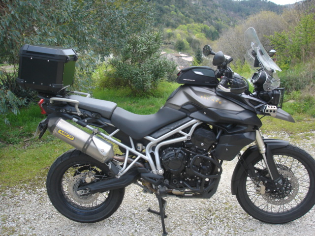 "triumph tiger 800 ""ESCAPE"" 13041505102911643911088824"