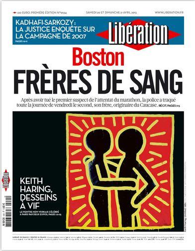 Libération Samedi 20 et dimanche 21 avril 2013