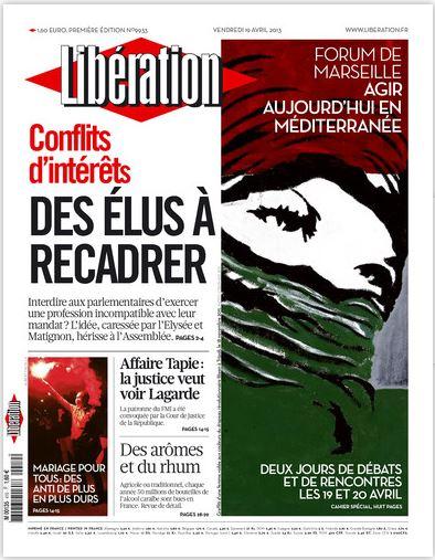 Libération Vendredi 19 avril 2013