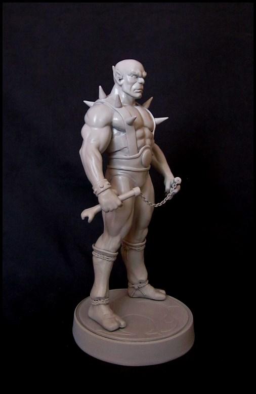 Thundercats Panthro statue 13042008413616083611106260