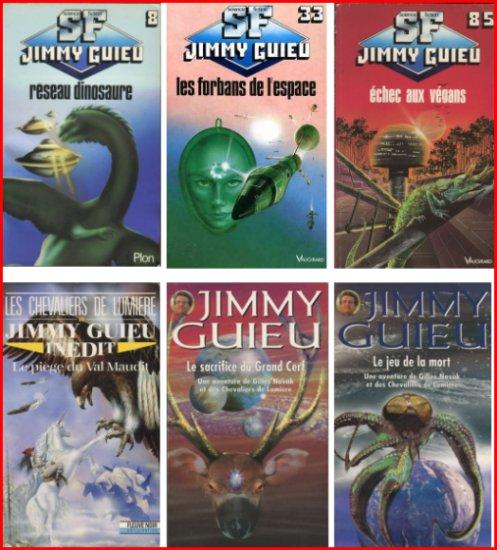 Jimmy GUIEU L intégrale Fleuve noir SF