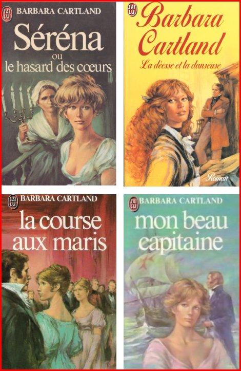 Barbara CARTLAND 123 romans