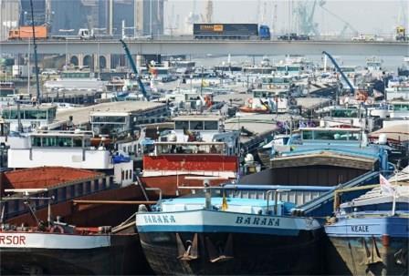 Binnenscheepvaart in Frans-Vlaanderen 13042610321614196111123468