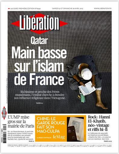 Libération Samedi 27 et dimanche 28 avril 2013