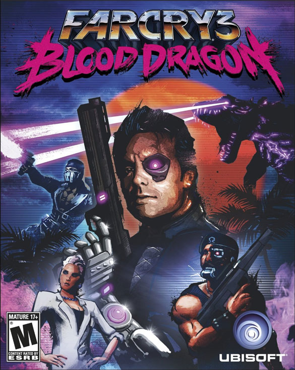 Far Cry 3: Blood Dragon Poster