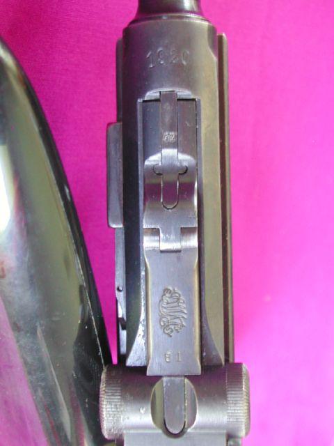 LUGER P08 9MM DWM 1920 REGIMENTE 1305011028494869711141148