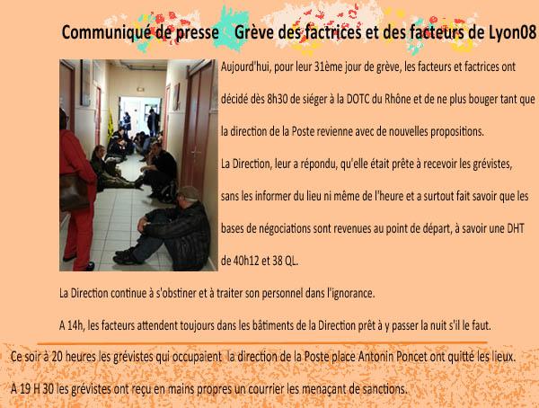 Grève à Lyon 8 1305021025233128011147587