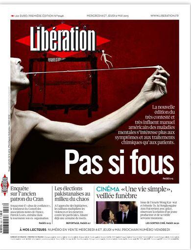 Libération Mercredi 8 mai 2013