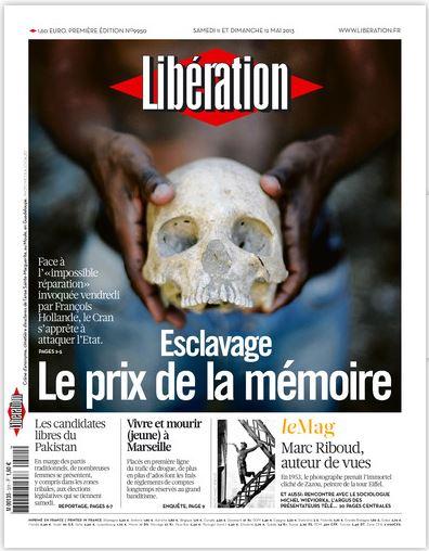 Libération Samedi 10 et dimanche 11 mai 2013