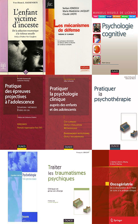 Médecine : 8e partie - Psychologie - Psychothérapies