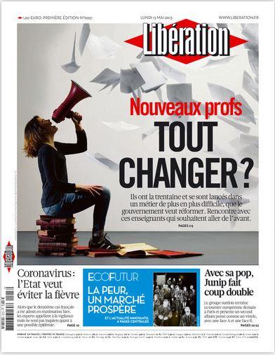Libération Lundi 13 mai 2013