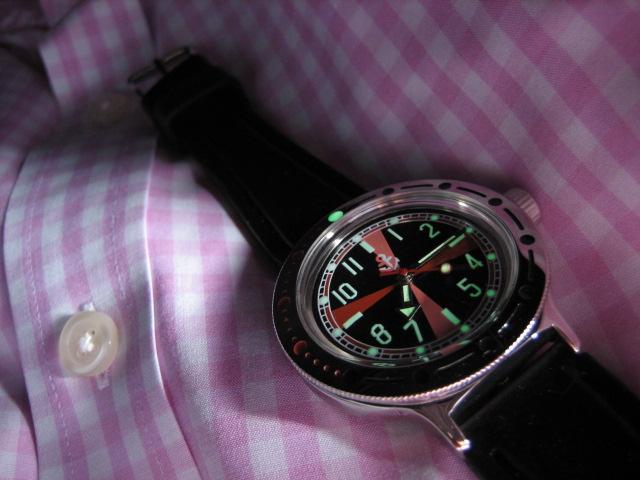 Un petit nouveau et une nouvelle montre.... 13051409060412775411188997
