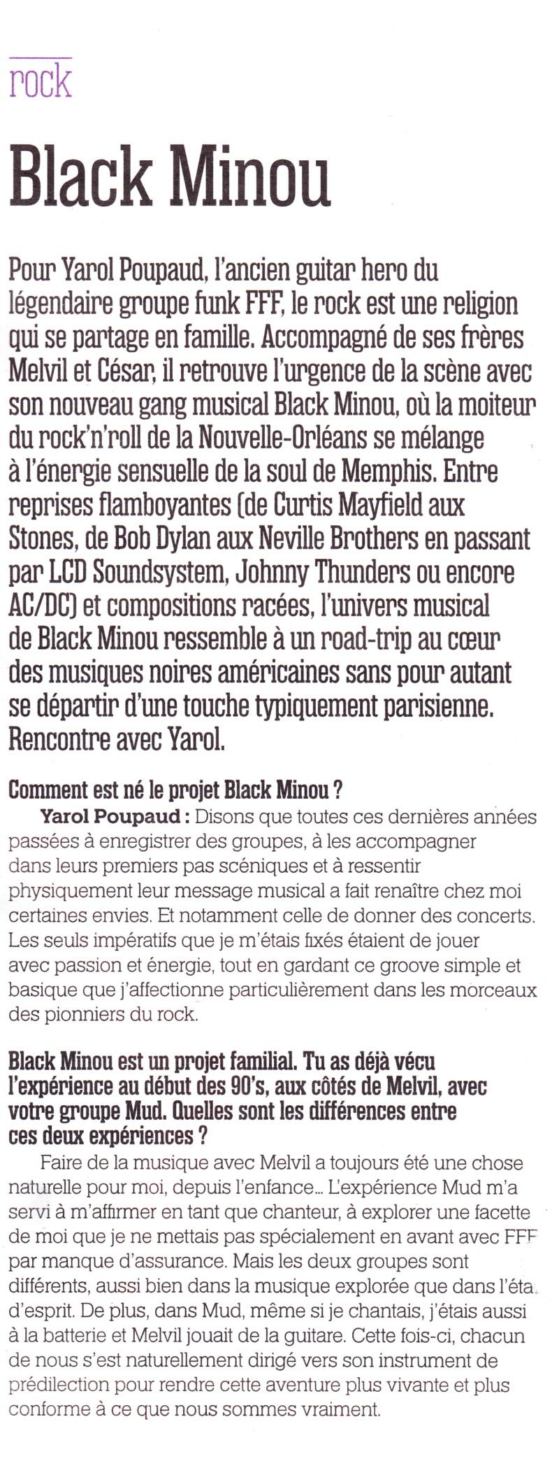 Yarol Poupaud, Black Minou & Johnny Hallyday par Philippe Manoeuvre (Rock&Folk) - Page 2 13051507245315789311192060
