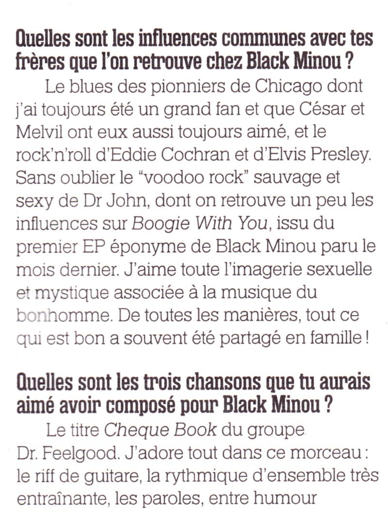 Yarol Poupaud, Black Minou & Johnny Hallyday par Philippe Manoeuvre (Rock&Folk) - Page 2 13051507245315789311192062
