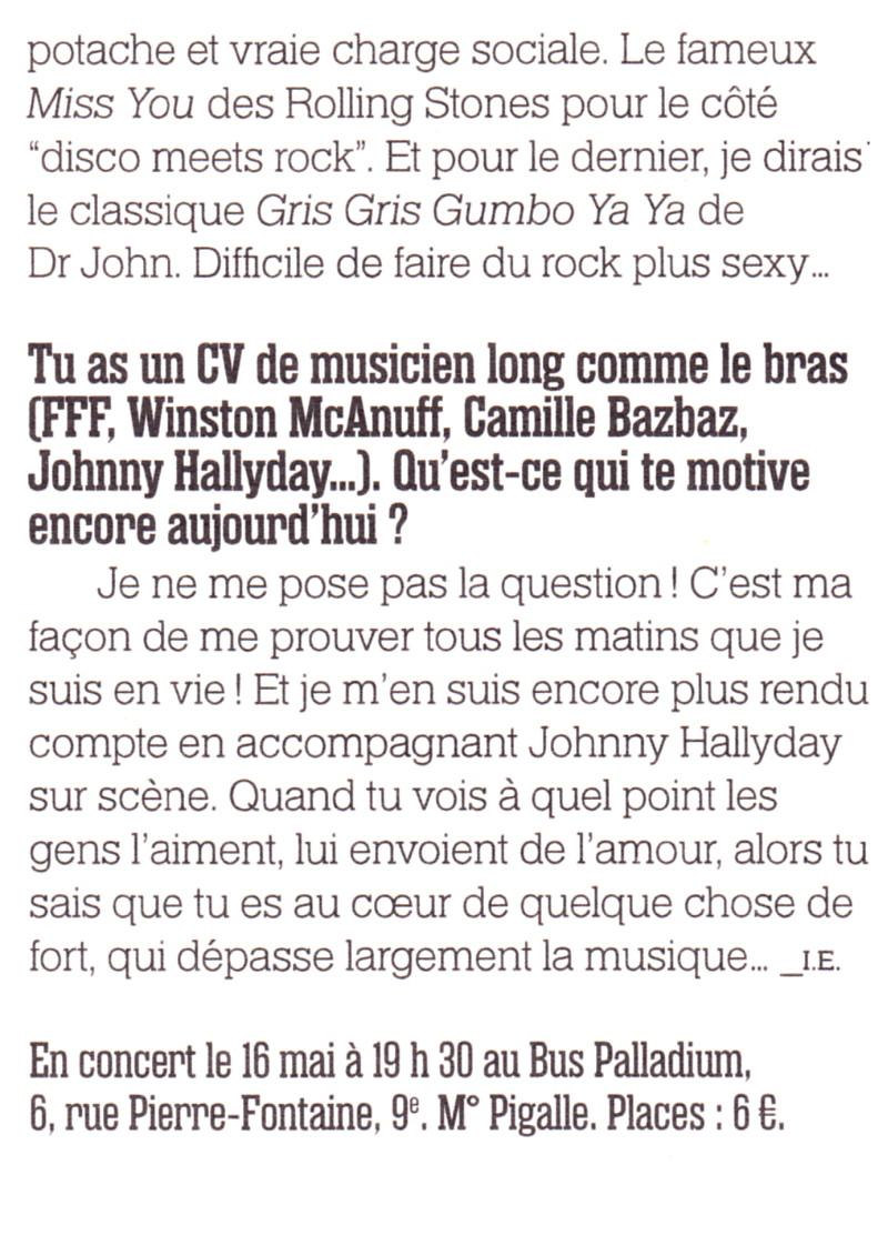 Yarol Poupaud, Black Minou & Johnny Hallyday par Philippe Manoeuvre (Rock&Folk) - Page 2 13051507245315789311192063