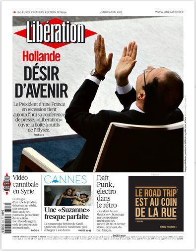 Libération Jeudi 16 Mai 2013