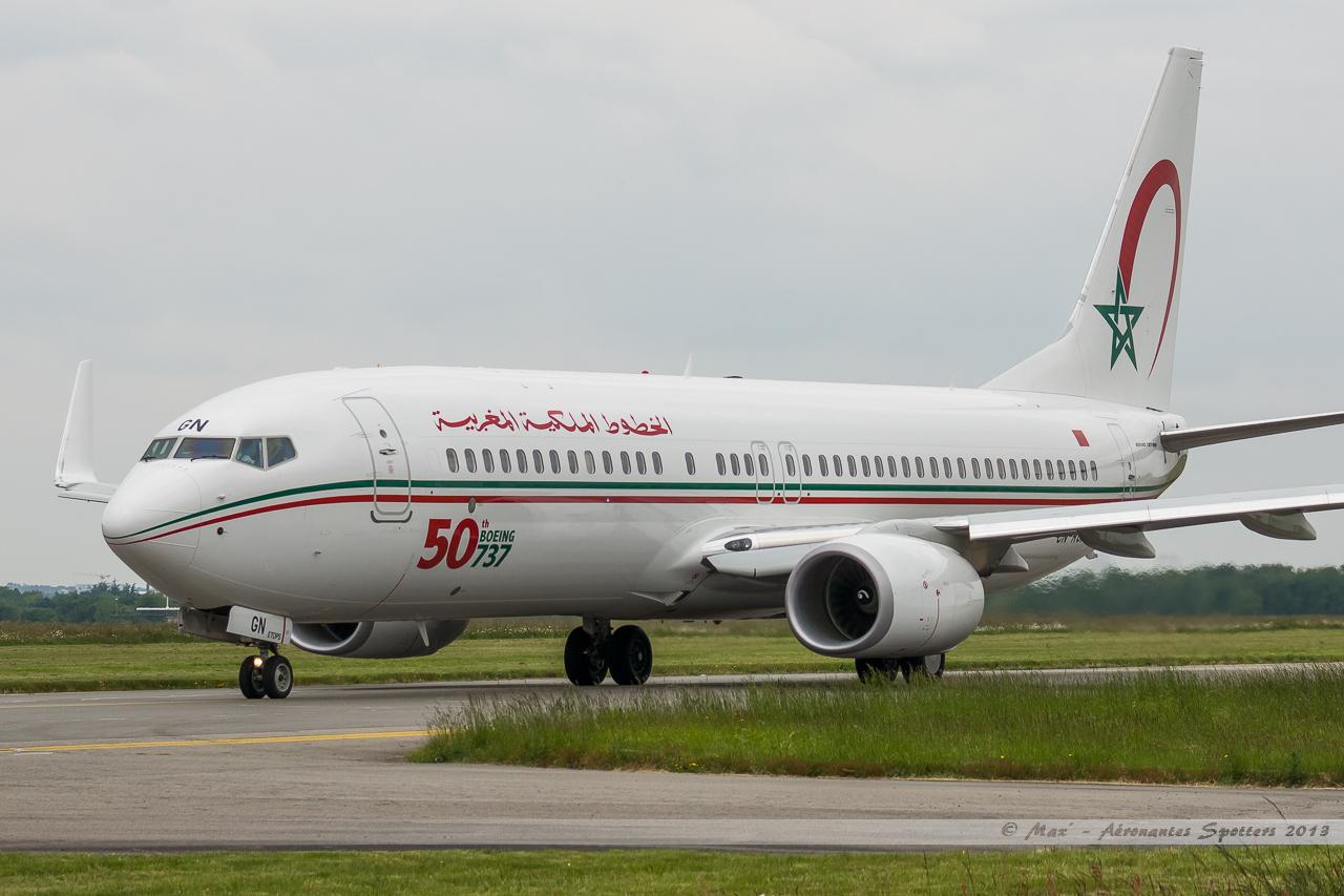 [ 18/05/2013 ] B737-8B6 Royal Air Maroc (CN-RGN) 50 th boeing 737 13051806412316280011202001