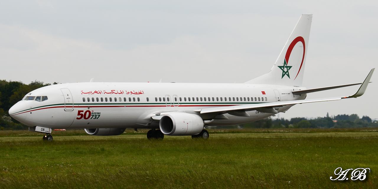[ 18/05/2013 ] B737-8B6 Royal Air Maroc (CN-RGN) 50 th boeing 737 13051806474816280011202023