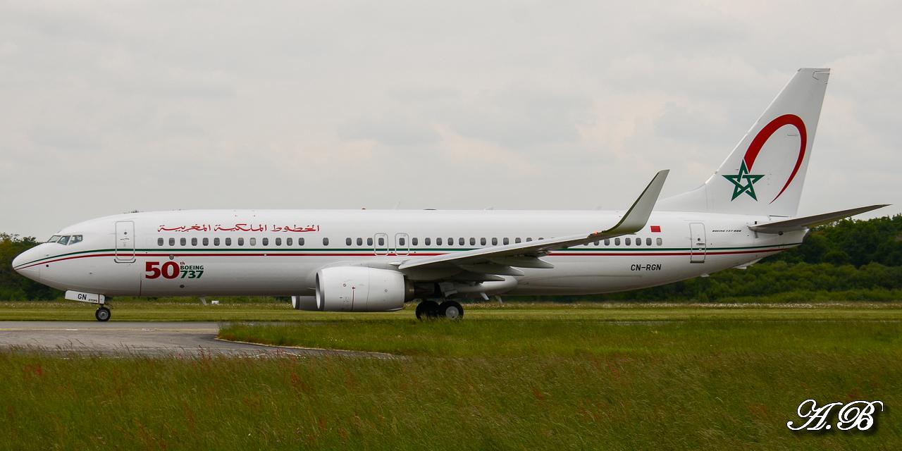 [ 18/05/2013 ] B737-8B6 Royal Air Maroc (CN-RGN) 50 th boeing 737 13051806474816280011202024