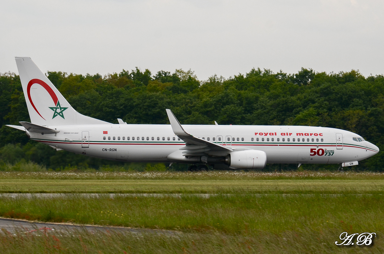 [ 18/05/2013 ] B737-8B6 Royal Air Maroc (CN-RGN) 50 th boeing 737 13051806474916280011202025
